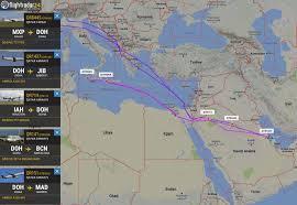 Qatar Route Map by Flight Ban For Qatar Flights In Uae Saudi Arabia Bahrain And