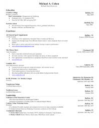 Graduated With Honors Resume Template For Resume Microsoft Word Free Resume Example And