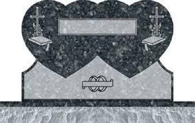design a headstone heart uprights monuments heart shape headstones