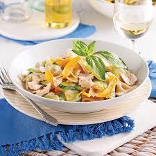 recette cuisine legere farfalles au thon sauce légère au chou fleur recettes cuisine
