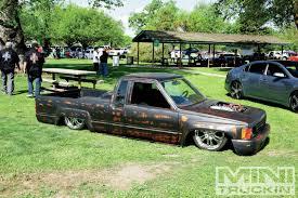 subaru mini truck lifted danger zone 2013 custom truck show mini truckin magazine