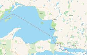Lake Superior Map The Anishinaabe Rock Paintings Of Agawa Rock Ramblin U0027 Boy