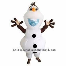 olaf costume olaf snowman olaf costume for fancy