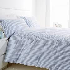 White Stripe Duvet Cover Light Blue And White Bedding Blue And White Striped Duvet Cover