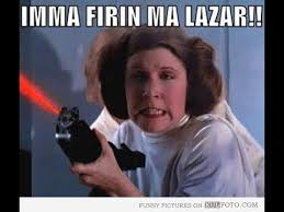 Leia Meme - leia shooting stars meme youtube