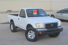 white toyota truck 1998 toyota tacoma single cab 4x4 extra clean 6 450 00