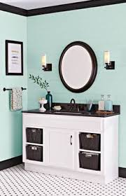 Bathroom Paint Schemes My Bathroom In U0027sea Salt U0027 By Sherwin Williams Blog Has A List Of