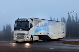 volvo truck 2004 volvo trucks tests hybrid powertrain for long haul transport in