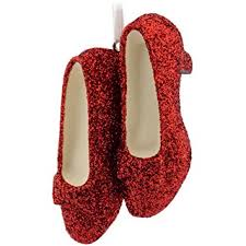 hallmark wizard of oz ruby slippers ornament