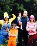 Despicable Family Halloween Costumes Thrift Shop Halloween Costume Edith Despicable