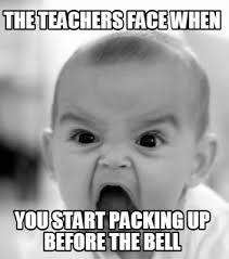 Meme Face Creator - meme creator the teachers face when you start packing up before
