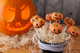halloween pumpkin cake pops ilovecooking