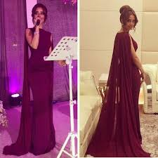 maroon dresses for wedding simple maroon prom dress with cape sleeveless o neck floor length
