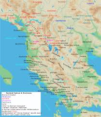 Map Of Ancient Europe by List Of Ancient Cities In Illyria Wikipedia