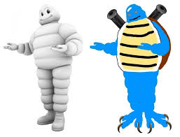 Michelin Man Meme - my friend said the blastoise model looked like the michelin man in