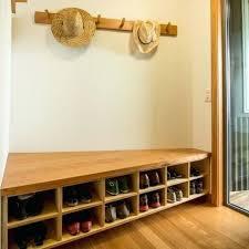 coat bench storage rustic shoe storage bench seat decoration a