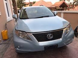 used lexus suv for sale in nigeria full option foreign used lexus rx 350 2010 autos nigeria