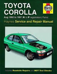 wiring diagram toyota corolla workshop service and maintenance