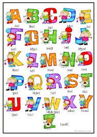490 free esl alphabet worksheets