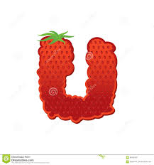 letter g strawberry font red berry lettering alphabet fruits a