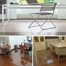 tapis bureau transparent chair mat wooden floor protection carpet office pvc non slip area