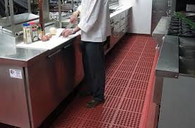 commercial kitchen flooring and restaurant mat products made of