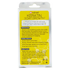 nail aid 3 day growth keratin amino acids formula 55 fl oz
