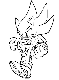 coloring pages sonic sonic the hedgehog coloring pages to print coloringstar