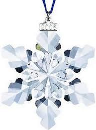 swarovski 2010 annual edition crystal snowflake ornament for