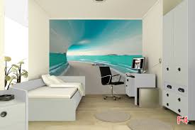 Wall Murals 3d Mural 3d Tunnel With Sea View And Shore