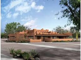 adobe style home eplans adobe house plan up to date pueblo 3838 square and