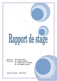 rapport de stage cuisine resume profile claims adjuster resumes sles