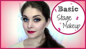 professional stage makeup basic stage makeup tutorial kathryn