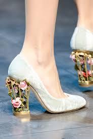 wedding shoes embellished heel unique wedding shoes on onewed