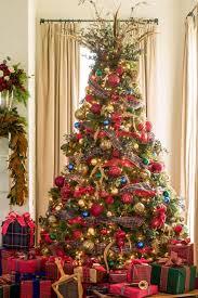 innovation ideas christmas tree garland stylish burlap topper bow