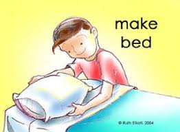 Make Your Bed Positive Reinforcement Using Illustrated Behavior Charts From Www