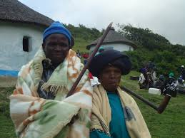 Xhosa Mother and Son  by Kathleen Rice