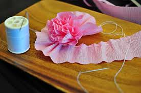 crepe paper flowers how to make crepe paper flowers
