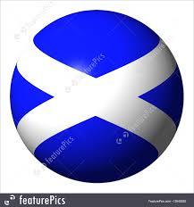flags scotland flag sphere stock illustration i2645830 at