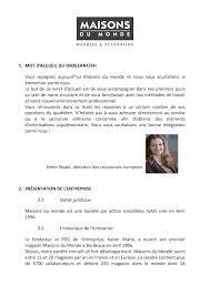 Maisons Du Monde Ouvre Un Livret D Accueil Maisons Du Monde Calameo Downloader