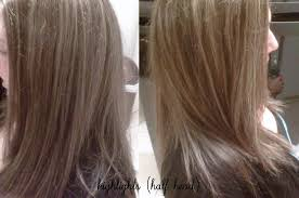 foil highlights for brown hair half head highlights olivia had medium dark brown hair an flickr