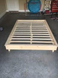 Instructables Platform Bed - wood platform bed 9 steps