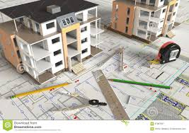 house architectural drawing and layout stock photo image 67887607