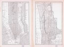 Old Map New York City by Large Scale Detailed Old Map Of New York City 1884 New York