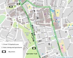 map uk harrogate harrogate town centre tour de 2014