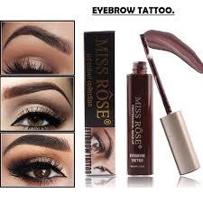 aliexpress com buy miss rose makeup eyebrow shadows waterproof
