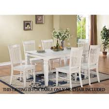 East West Furniture WETWHIT Weston Dining Table With  In - Dining room table with butterfly leaf