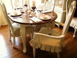 Slipcover Dining Room Chairs Slipcovered Dining Room Chairs