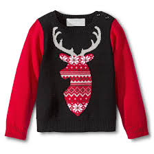infant toddler boys u0027 reindeer ugly christmas sweater totally going
