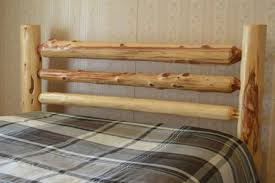 handmade rustic queen cedar log bed and other log bedroom furniture